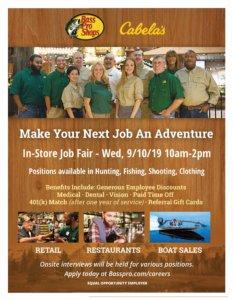 Cabelas Job Fair