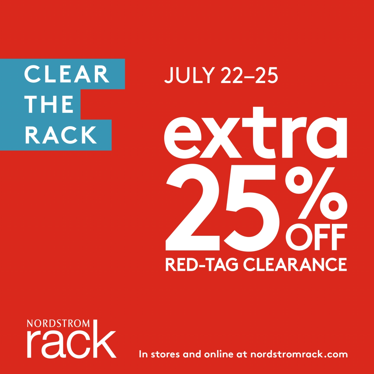 Nordstrom Rack Clear the Rack